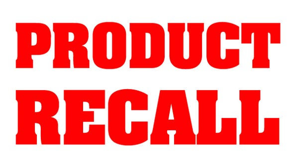 Product recall.