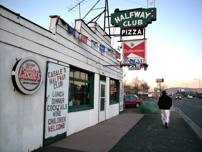 Casale's Halfway Club, named so  because it was halfway