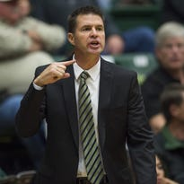 CSU coach Ryun Williams in a game earlier this season. The Rams host CU at 7 p.m. Wednesday.