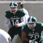 Michigan State football hopes it found its left side of offensive line