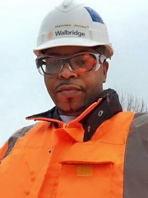 Benitez Jones of Soccoro, Texas, is a project engineer for Detroit-based construction firm Walbridge. An NMSU alumnus with a bachelor's degree in marketing, he says he enrolled in the College of Business' cohort-based distance MBA program because it allows him to continue traveling with his job while working toward his degree.