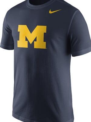 A new Michigan shirt by Nike