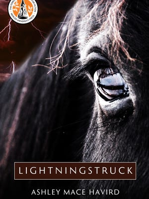 """""""Lightningstruck"""" is the debut novel of Ashley Mace Havird. An exhibit showcasing the book is at artspace through Aug. 13."""
