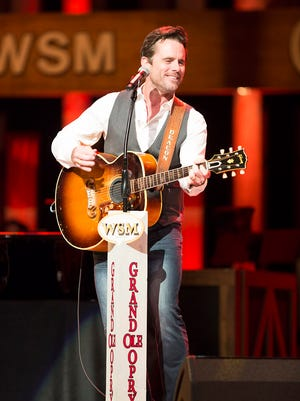 """Charles """"Chip"""" Esten performs at the Grand Ole Opry."""