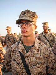 Lukas Brockway is a U.S. Marine.
