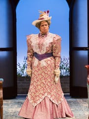 Randy Danson is the formidable Lady Bracknell at Two