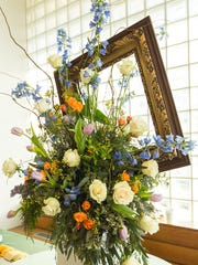 Floral designers will create arrangements inspired