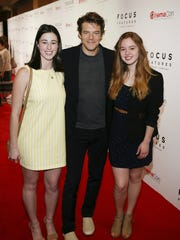 """Jason Blum of Blumhouse Productions, the production company behind Academy Award-nominated films like """"Get Out"""" and """"Whiplash,"""" presented Kirie and Montaguetheir award."""