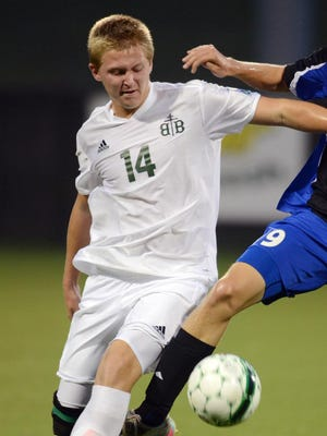 Bishop Brossart's Dylan Geiman had two goals and an assist in the 10th Region All 'A' championship game.