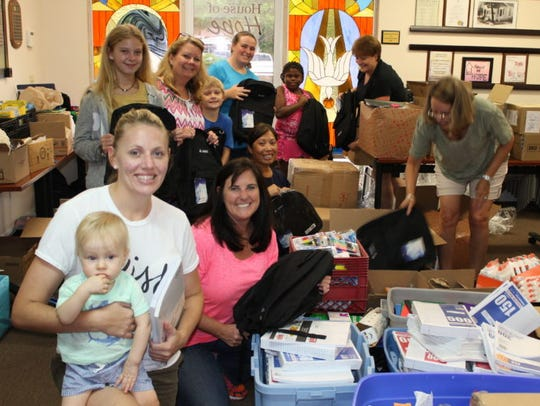RV Johnson Insurance brought in a team of volunteers