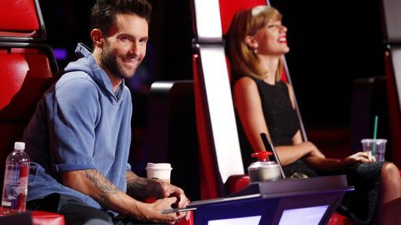 Voice Adam Levine Taylor Swift
