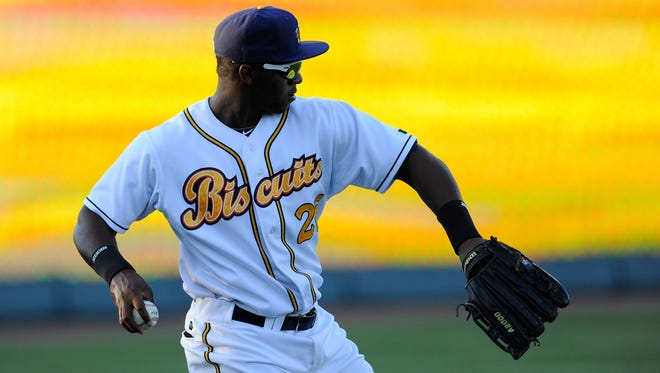 Jeremy Moore joined the Biscuits on Monday.