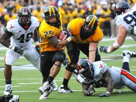 Former Southern Miss running back Damion Fletcher put up 5,302 rushing yards in his collegiate career.