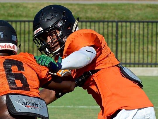 Defensive back Wesley Walker