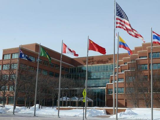Kellogg Co. world headquarters in downtown Battle Creek.