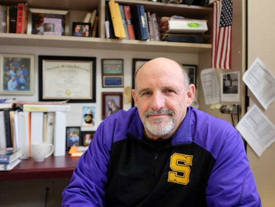 Steve Goodbody, photographed in his office at Salinas