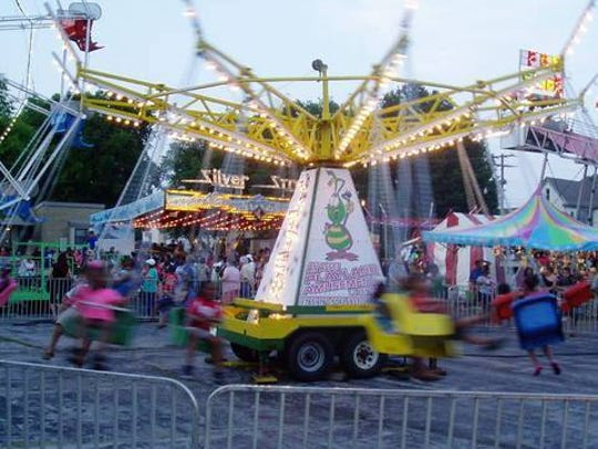 Carnival rides will provide fun for all ages at the