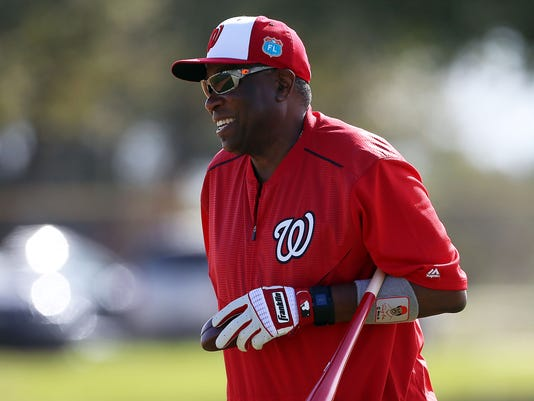 MLB: Washington Nationals-Workouts