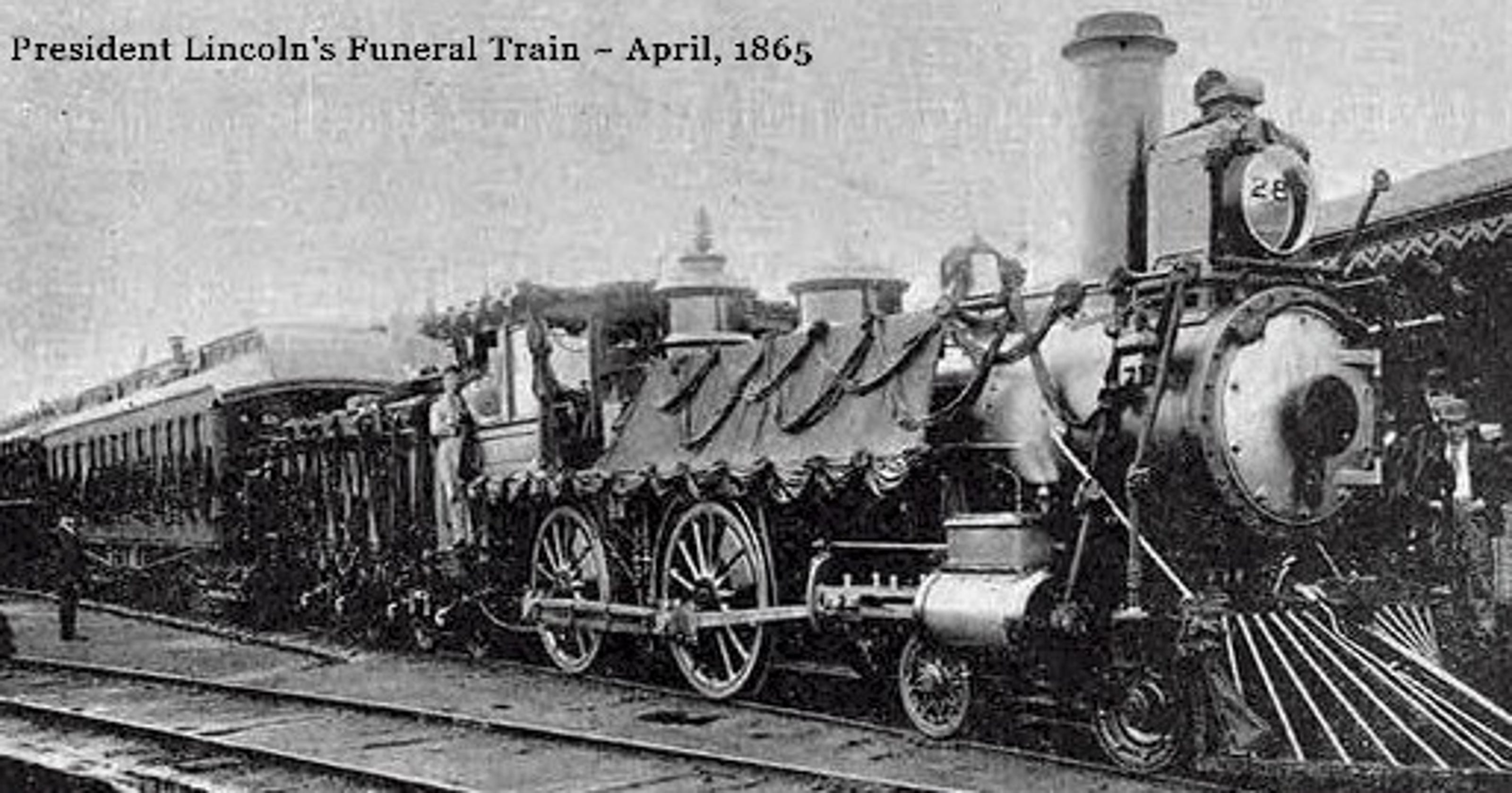 Out Of Our Past Crowds Gathered To Mourn At Lincoln S Funeral Train