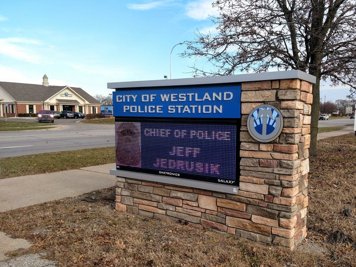 The Westland police station.