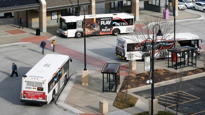 Topeka Metro won't reduce service yet as board members want to wait until fares return for a better picture of ridership numbers.