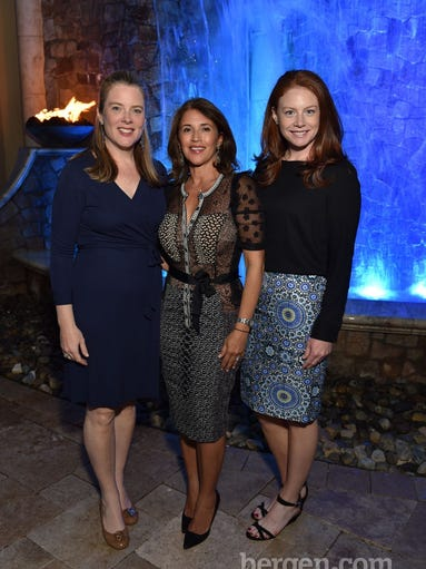 Bernadette Reilly, Millie Long and Erin McGlynn (Photo by Chris Marksbury)