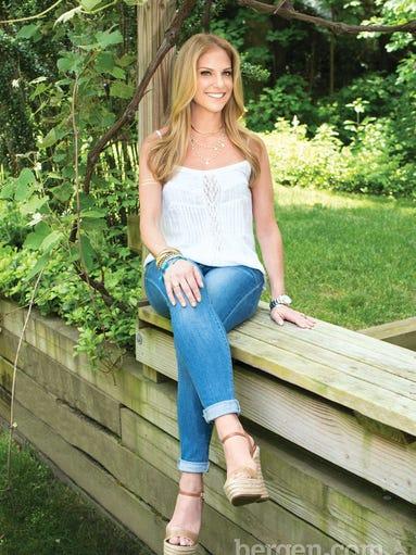Jenn Sherman wears: Ella Moss tank, <i>shopbop.com</i> | Flying Monkey jeans, <i>Bloomingdale's, The Shops at Riverside</i> | wedges, <i>shopbop.com</i>