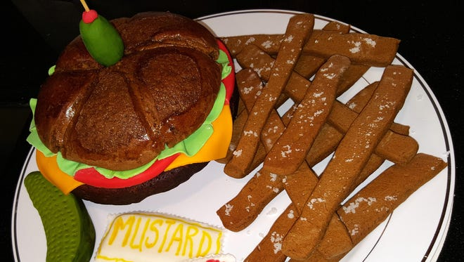 Hometown Dining Company's entry for the Gingerbread Trail last year resembled lunch.