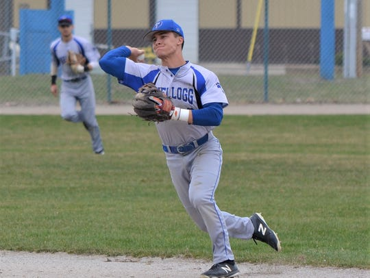 Lakeview grad Gavin Homer was a standout infielder for KCC last season and is now playing at Penn State.