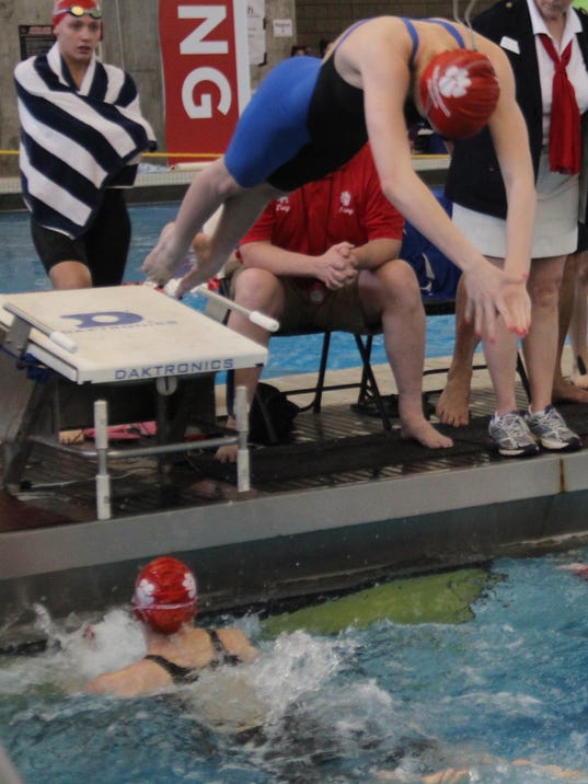 Beechwood swimming diving a family affair - University of louisville swimming pool ...