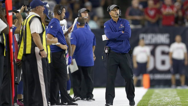 Fire coach Chuck Pagano? Only if you have someone better in mind, Gregg Doyel writes.