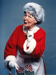 Come have cookies with Mrs. Claus from noon to 2 p.m.