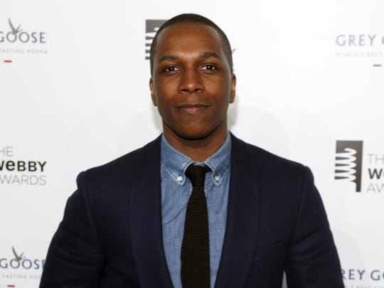 In this May 18, 2015 file photo, Leslie Odom Jr. attends the 19th Annual Webby Awards in New York.