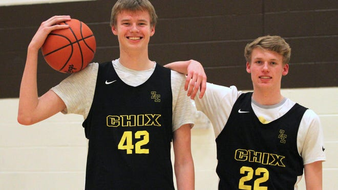Nathan Claerbaut (left) and Brandon Claerbaut both committed to Ferris State.