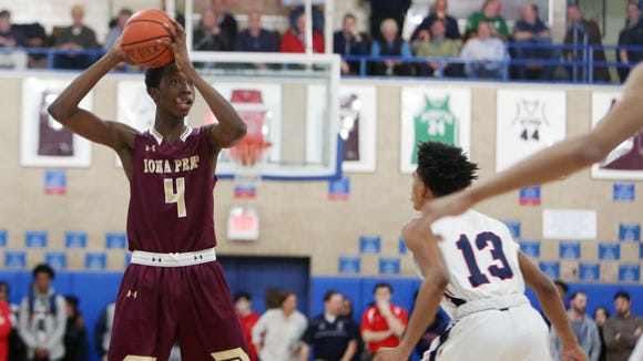 Iona Prep's Souleymane Koureissi is a candidate for this year's Super 7.