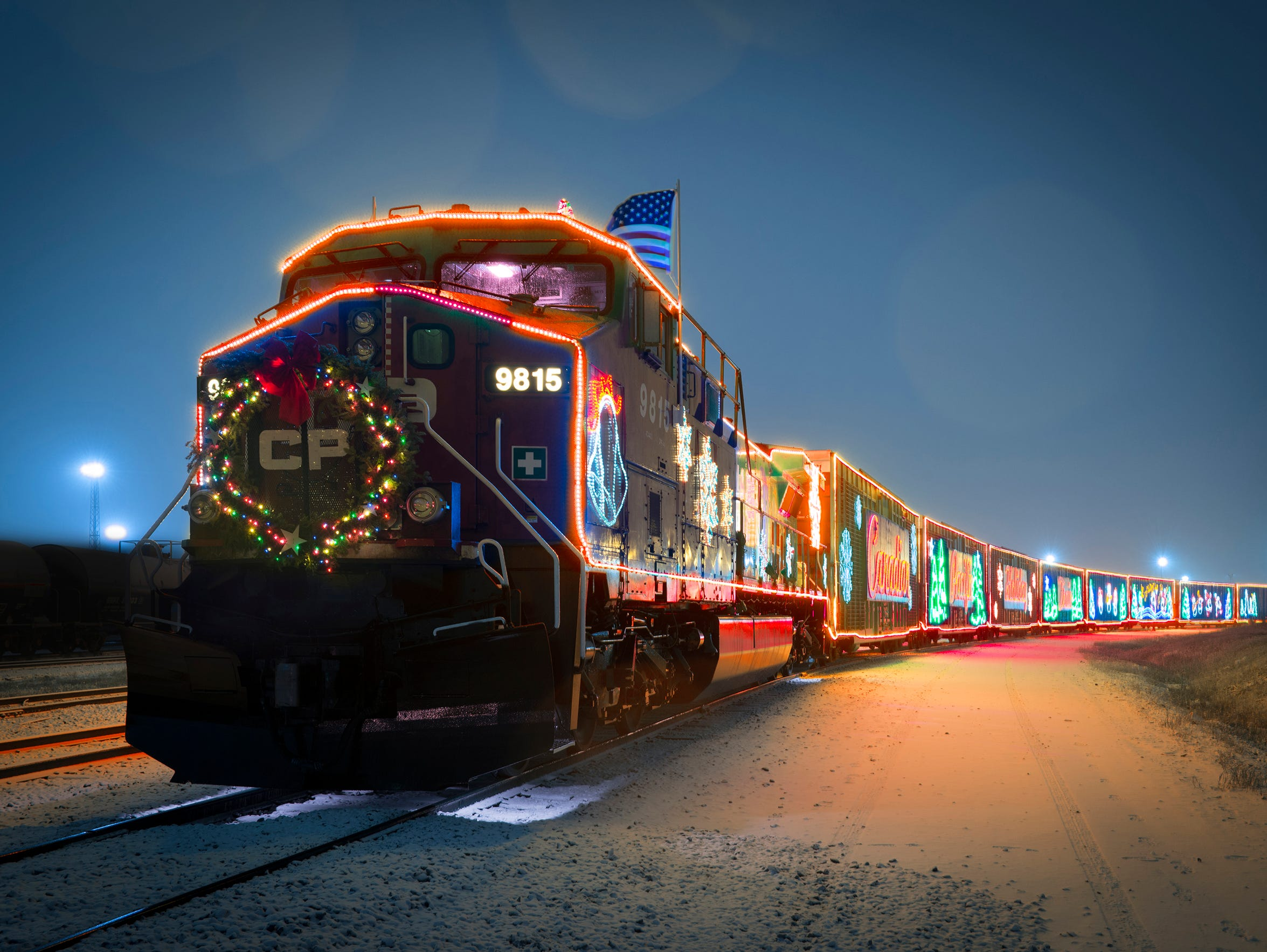 The Holiday Train comes through lake Country on Dec. 3 this year.