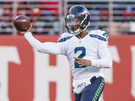 USP NFL: SEATTLE SEAHAWKS AT SAN FRANCISCO 49ERS S FBN USA CA