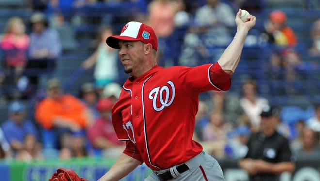Sean Burnett made nine appearances for the Washington Nationals in spring training and didn't give up a run. He joined the Red Wings in late May and has been a solid component in their bullpen.