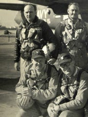 A photo of Robert Koth, at left in back row, with his