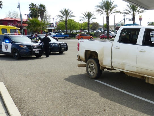 Redding police assisted the U.S. Marshals Service on