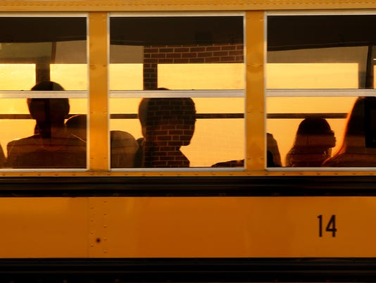 First day of School in Staunton 8/22/12