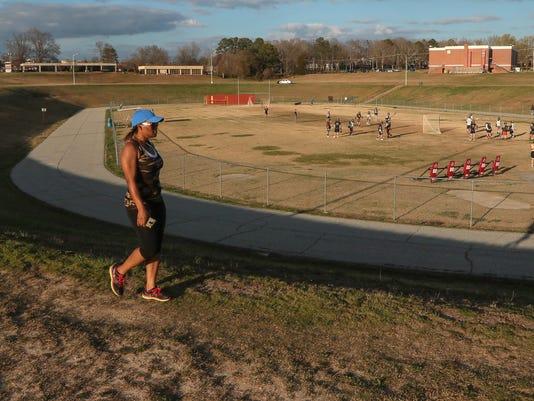 McCants walking track
