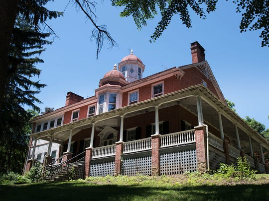 Greene Township plans to use the historic Corker Hill house as an office building and park office. The plan comes nine years after the township bought the property.
