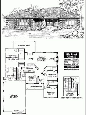 Hills creek house plan