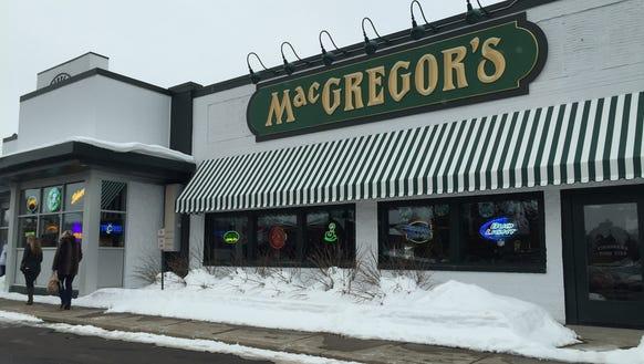 MacGregor's Grill & Tap Room has opened in Greece.
