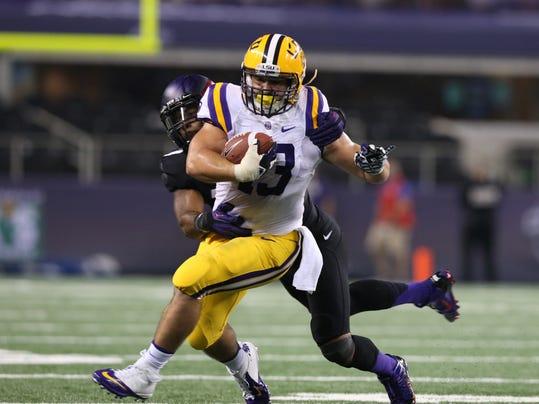 NCAA Football: Cowboys Classic-Louisiana State vs Texas Christian