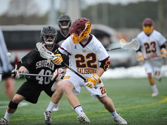 Salisbury University men's lacrosse player Nate Blondino