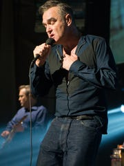 Morrissey performs at Tilles Center for the Performing