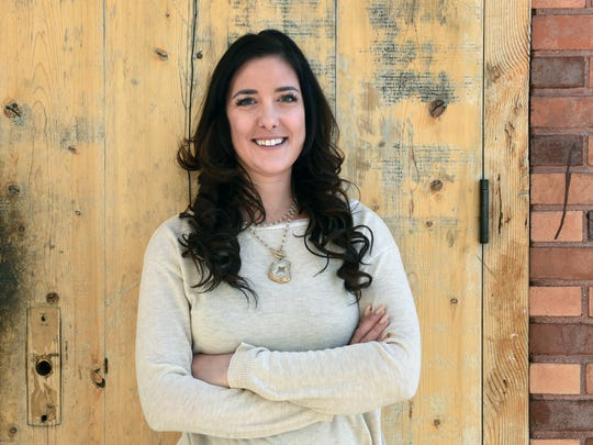 Britton Griffith is vice president of operations at Reno Engineering and a leading advocate for the new downtown Reno. She's also a leading local drinker of Ferrari-Carano fumé blanc.