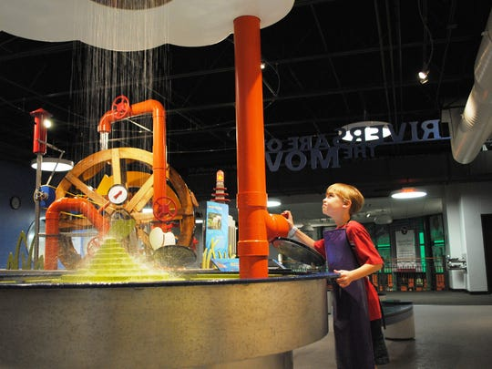 The National Mississippi River Museum & Aquarium is open 9 a.m.-6 p.m. daily Memorial Day weekend through Labor Day.